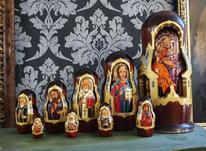 ست ماتروشکا روسی موزه ای تمام نقاشی در شیپور-عکس کوچک