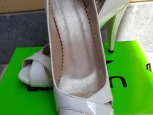 کفش مجلس رنگ سفید مثل نو در شیپور