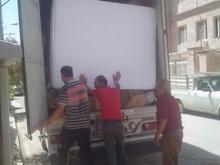 حمل باروکالا واثاثیه وجهیزیه در شیپور