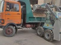 خاور کمپرسی ماسه شسته حمل نخاله خاور در شیپور-عکس کوچک
