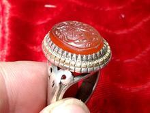 انگشتر نقره مردانه دست ساز فاخر در شیپور