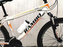 دوچرخه حرفهای 26 آلومینیومی مشابه نو رامبو تایرهای گلریز نو در شیپور