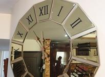 ساعت آینه ای برنزی قطر 80 سانت در شیپور-عکس کوچک