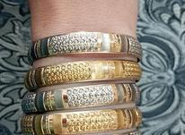 5 تا النگو طلا سایز 3 کوچیک در شیپور-عکس کوچک
