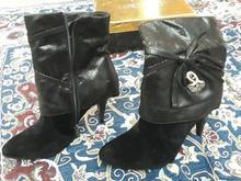 کفش نیم بوت مخمل در شیپور
