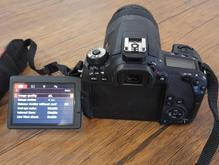 دوربین دست دوم 77D کانن همراه با لنز 18-135 در شیپور