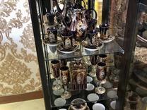 سرویس 68 پارچه کریستال و چینی طلا کاری شده در شیپور
