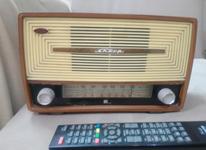 رادیو لامپی عتیقه در شیپور-عکس کوچک