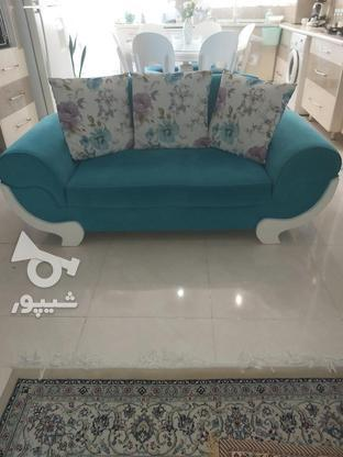 مبل 7 نفره راحتی بسیار تمیز و سالم در گروه خرید و فروش لوازم خانگی در تهران در شیپور-عکس2