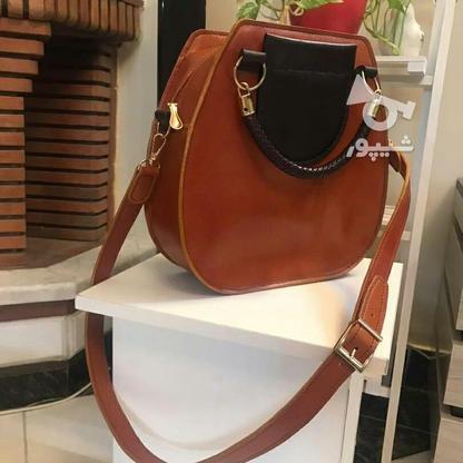 کیف رودوشی زنانه چرم در گروه خرید و فروش لوازم شخصی در البرز در شیپور-عکس2