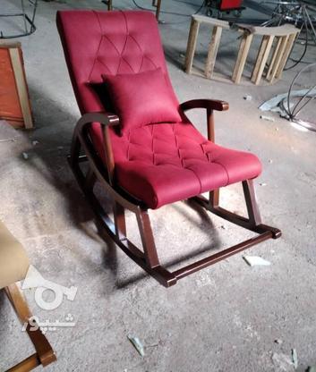صندلی راحتی راکر در گروه خرید و فروش لوازم خانگی در تهران در شیپور-عکس1