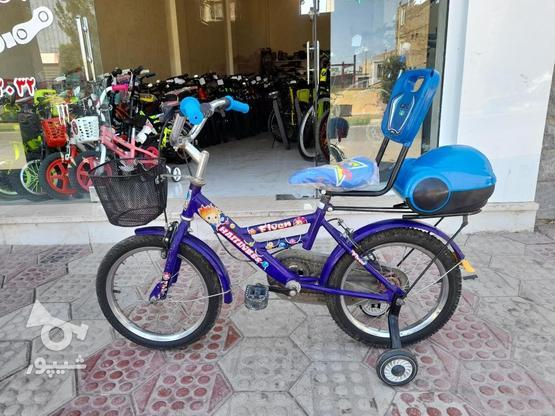 دوچرخه سایز16 درحد نو در گروه خرید و فروش ورزش فرهنگ فراغت در قزوین در شیپور-عکس2