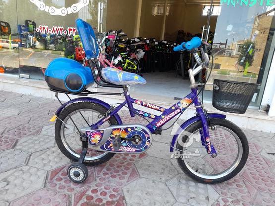 دوچرخه سایز16 درحد نو در گروه خرید و فروش ورزش فرهنگ فراغت در قزوین در شیپور-عکس1