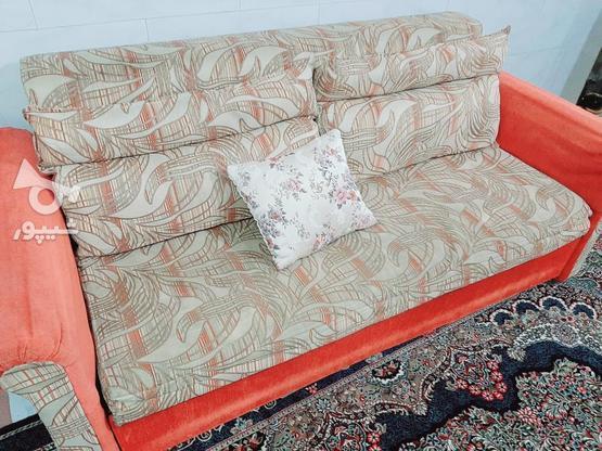 مبل تختخواب شو راحتی در گروه خرید و فروش لوازم خانگی در خراسان رضوی در شیپور-عکس1