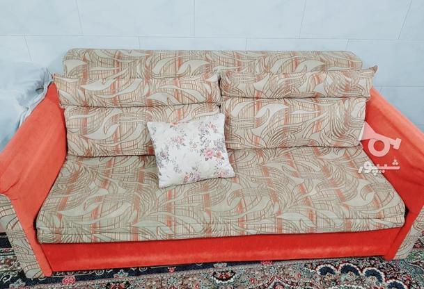 مبل تختخواب شو راحتی در گروه خرید و فروش لوازم خانگی در خراسان رضوی در شیپور-عکس2