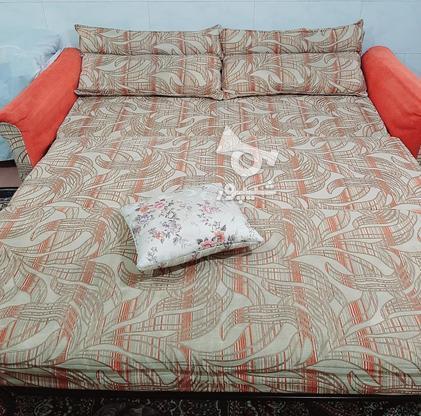 مبل تختخواب شو راحتی در گروه خرید و فروش لوازم خانگی در خراسان رضوی در شیپور-عکس3