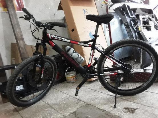 دوچرخه 26 رامبو در حد نو در گروه خرید و فروش ورزش فرهنگ فراغت در گیلان در شیپور-عکس1