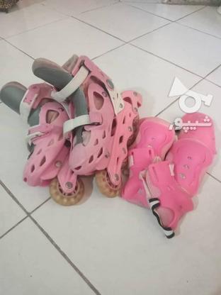 کفش اسکیت دخترانه کاملا سالم در گروه خرید و فروش ورزش فرهنگ فراغت در البرز در شیپور-عکس1