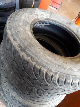 لاستیک جیپ در حد نو 85 درصد در گروه خرید و فروش وسایل نقلیه در مازندران در شیپور-عکس2