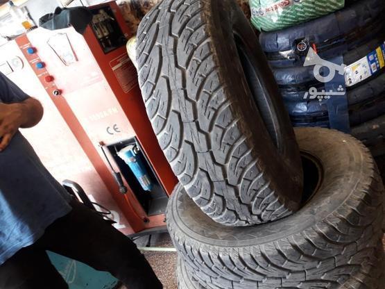 لاستیک جیپ در حد نو 85 درصد در گروه خرید و فروش وسایل نقلیه در مازندران در شیپور-عکس1