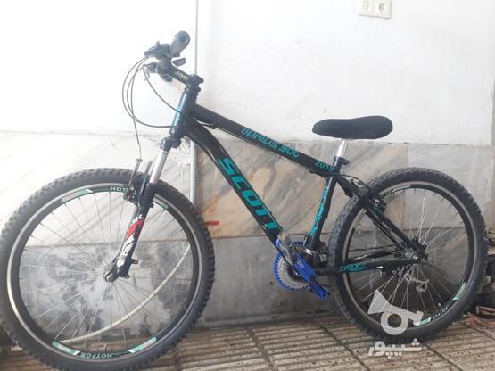 دوچرخه اسکات دنده ایی 2018 در گروه خرید و فروش ورزش فرهنگ فراغت در مازندران در شیپور-عکس1