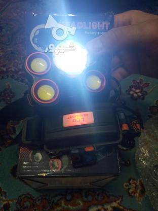 هد لایت 5چراغه lED در گروه خرید و فروش لوازم الکترونیکی در قزوین در شیپور-عکس3