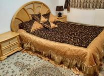 سرویس تخت خواب دو نفره تمام چوبی و دراور در شیپور-عکس کوچک