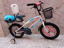 دوچرخه 16سفید آبی درحد صفر در شیپور