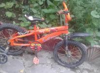 دوچرخه سایز 16 رنگ نارنجی سالم در شیپور-عکس کوچک