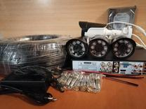 دوربین مداربسته 4 تایی دید در شب FULL HD آماده نصب مدار بسته در شیپور