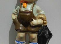 مجسمه آنتیک پسر بچه ومیمون(اصل ژاپن) در شیپور-عکس کوچک