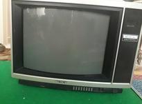 تلوزیون قدیمی دور چوبی سونی ژاپن اصل در شیپور-عکس کوچک