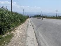 فروش فوری زمین 1000 متر بر جاده اصلی در شیپور