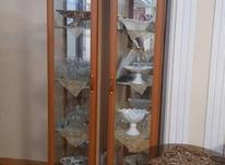 فروش دوعدد ویترین ام دی اف دارای اینه قدی در شیپور-عکس کوچک