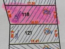 فروش زمین 121متر سنددار مناسب سرمایه گذاری نور  در شیپور