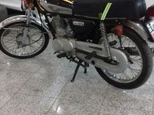 موتور 125با برگه مزایده در حد صفر کم کارکرد در شیپور