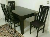 میز نهارخوری شش نفره به همراه چهار صندلی در شیپور-عکس کوچک