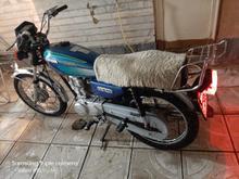 موتورسیکلت هندا125مزایده ای مدل86 در شیپور