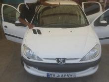 خودرو206سالم فنی لاستیک درحدرخ نودوپنج در شیپور