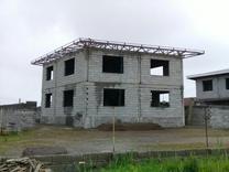 فروش زمین مسکونی 343 متر با یک ویلای نیمه ساخت در رودسر در شیپور