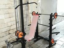 دستگاه بدنسازی 42کاره پروفیل60 صنعتی سیمکش کامل باشگاهی در شیپور