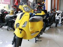 کاوان 125 مدل 1400 زرد در شیپور
