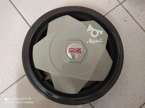 قالپاق اسپرت پراید و تیبا طرح oz سایز رینگ 13 اینچ فابریکی در گروه خرید و فروش وسایل نقلیه در تهران در شیپور-عکس2