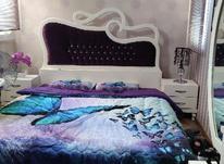 سرویس خواب شامل تخت . خوشخواب .پاتختی.آینه دراور و کمد لباس در شیپور-عکس کوچک