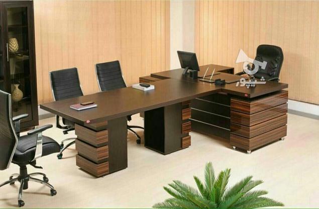 *میز کنفرانس اداری دفتری طرح پرنیا-های گلاس -فایل دار* در گروه خرید و فروش صنعتی، اداری و تجاری در تهران در شیپور-عکس1
