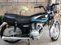 موتور سیکلت هوندا 150 استارتی کاربراتور در شیپور-عکس کوچک