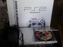 کنسول ps2 سونی با شارژر و کابل و دسته و 5 cd بازی در شیپور