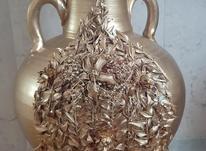 دوعدد گلدان طلایی به فروش میرسد در شیپور-عکس کوچک