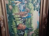 کوبلن منظره شکار با قاب در شیپور-عکس کوچک