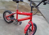دوچرخه به دلییل کوچیک بودن در شیپور-عکس کوچک